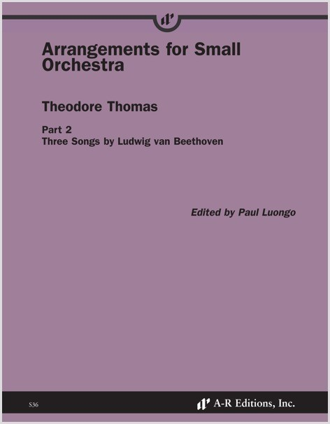 Thomas: Arrangements for Small Orchestra, Part 2