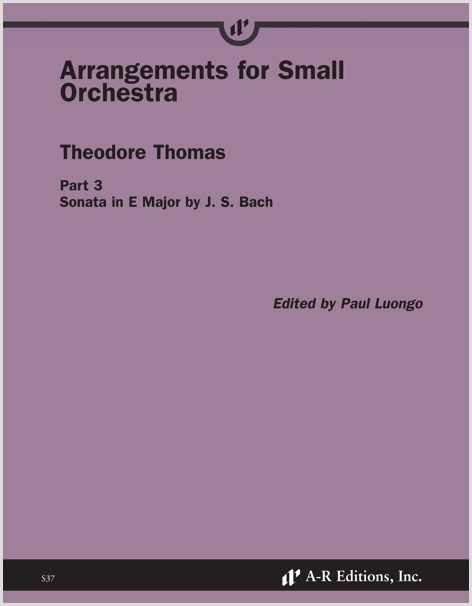 Thomas: Arrangements for Small Orchestra, Part 3