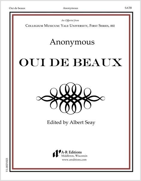 Anonymous: Oui de beaux