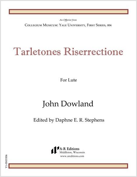 Dowland: Tarletones Riserrectione