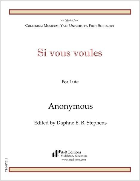 Anonymous: Si vous voules