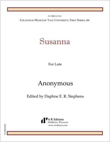 Anonymous: Susanna