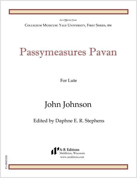 Johnson: Passymeasures Pavan