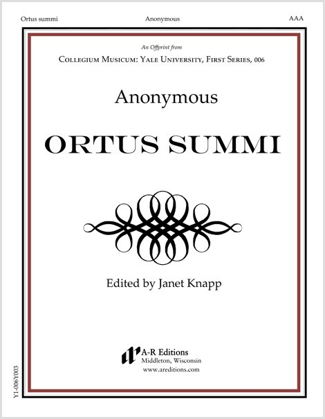 Anonymous: Ortus summi