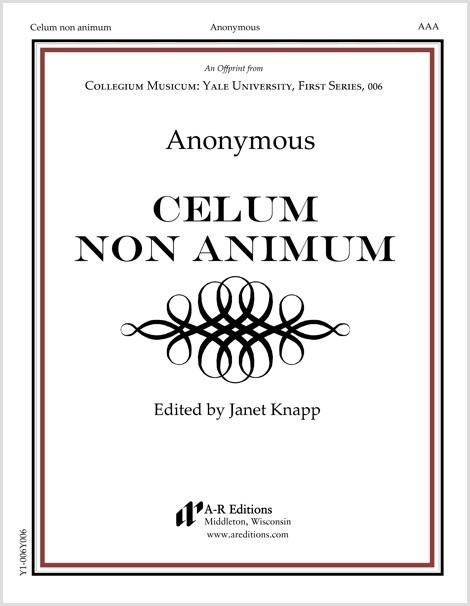 Anonymous: Celum non animum