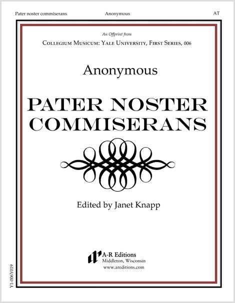 Anonymous: Pater noster commiserans