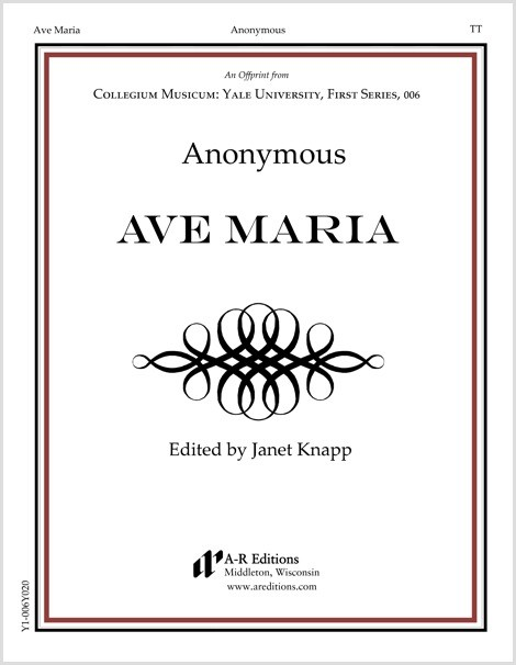 Anonymous: Ave Maria