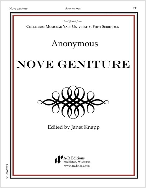 Anonymous: Nove geniture