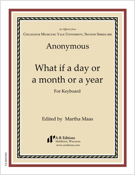 Anonymous: What if a day or a month or a year