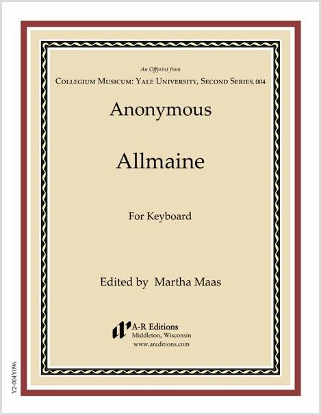 Anonymous: Allmaine