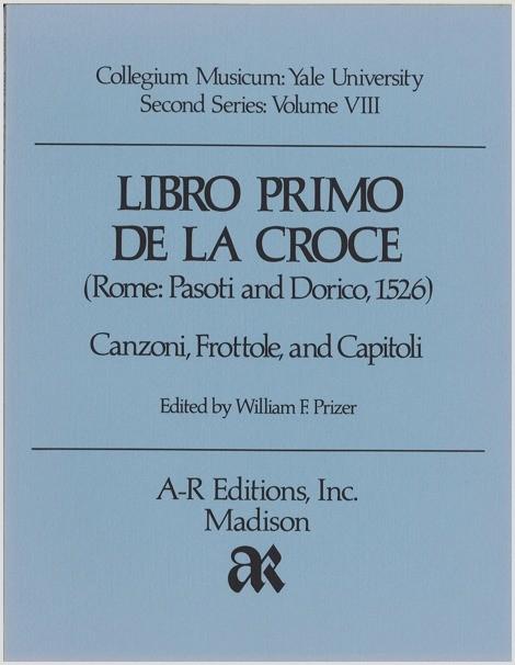 Libro primo de la croce (Rome, 1526)