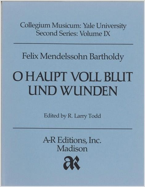 Mendelssohn: O Haupt voll Blut und Wunden