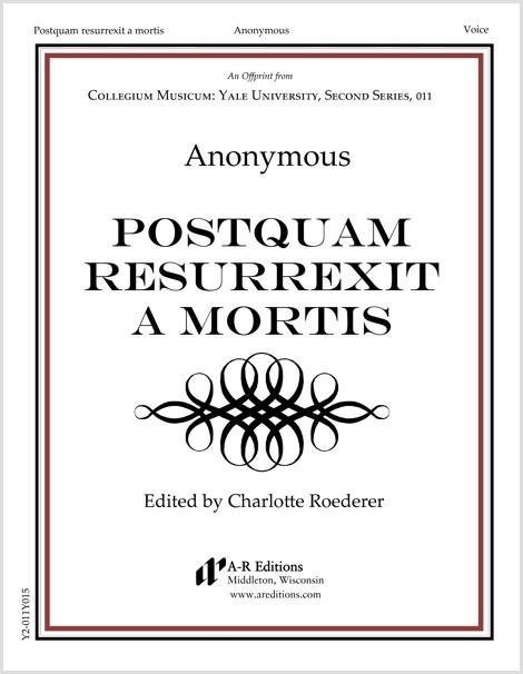 Anonymous: Postquam resurrexit a mortis