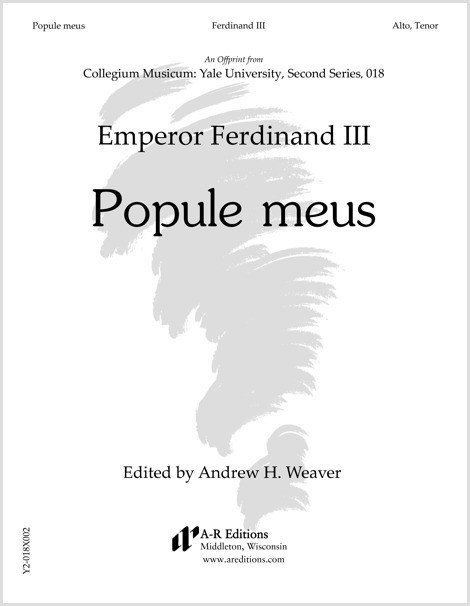 Ferdinand III: Popule meus