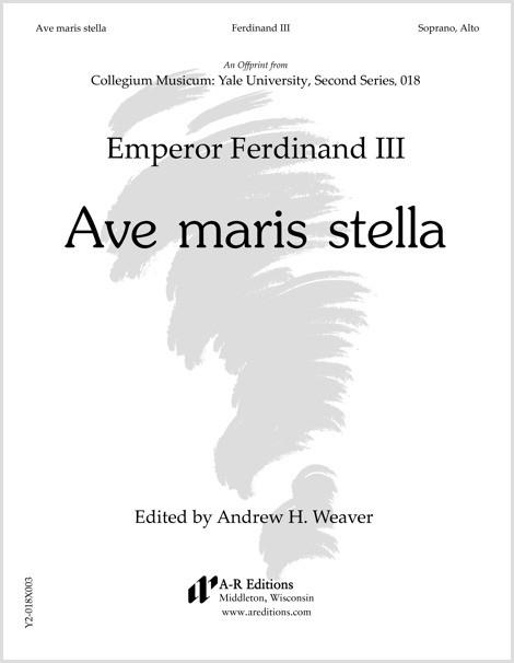 Ferdinand III: Ave maris stella