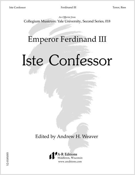 Ferdinand III: Iste Confessor