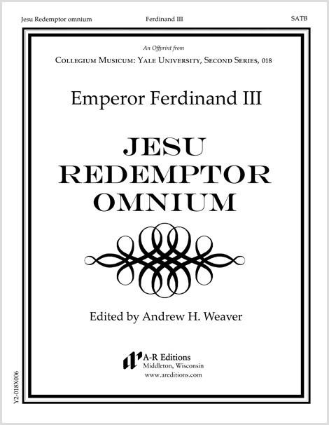 Ferdinand III: Jesu Redemptor omnium