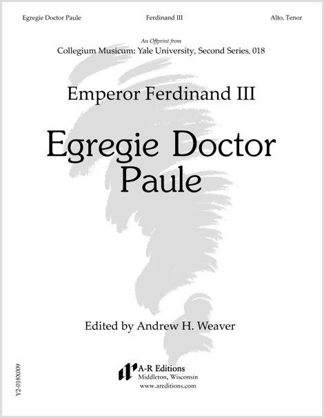 Ferdinand III: Egregie Doctor Paule