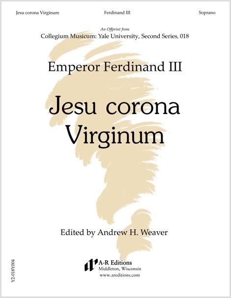 Ferdinand III: Jesu corona Virginum