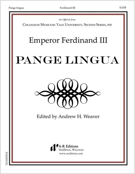 Ferdinand III: Pange lingua