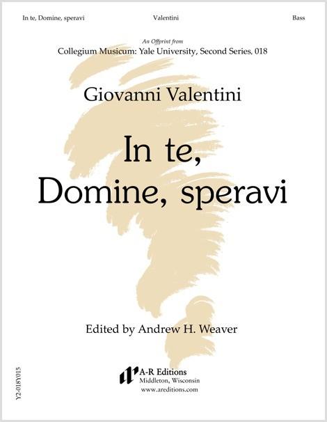 Valentini: In te, Domine, speravi