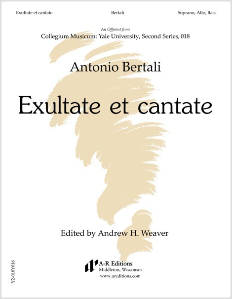 Bertali: Exultate et cantate