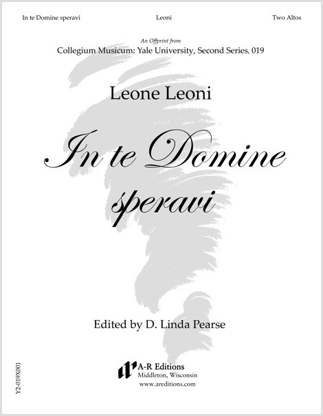 Leoni: In te Domine speravi