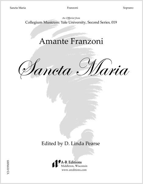 Franzoni: Sancta Maria