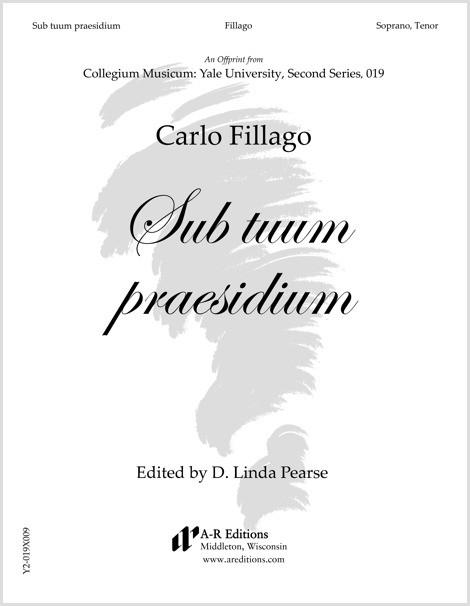 Fillago: Sub tuum praesidium