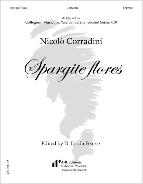Corradini: Spargite flores