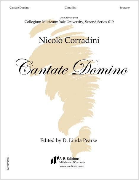 Corradini: Cantate Domino