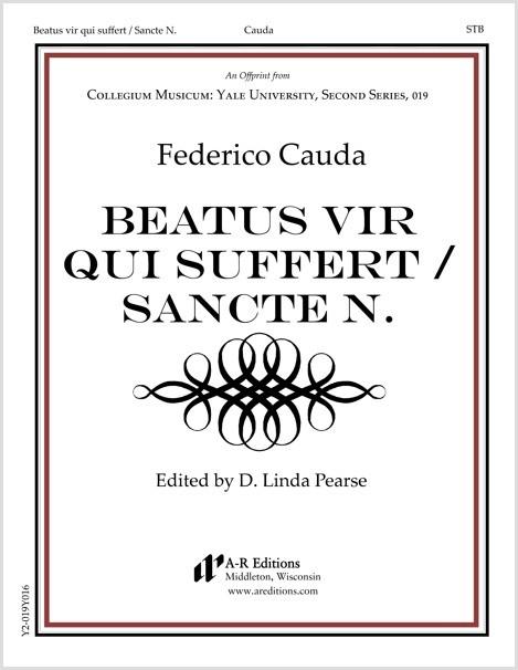 Cauda: Beatus vir qui suffert / Sancte N.