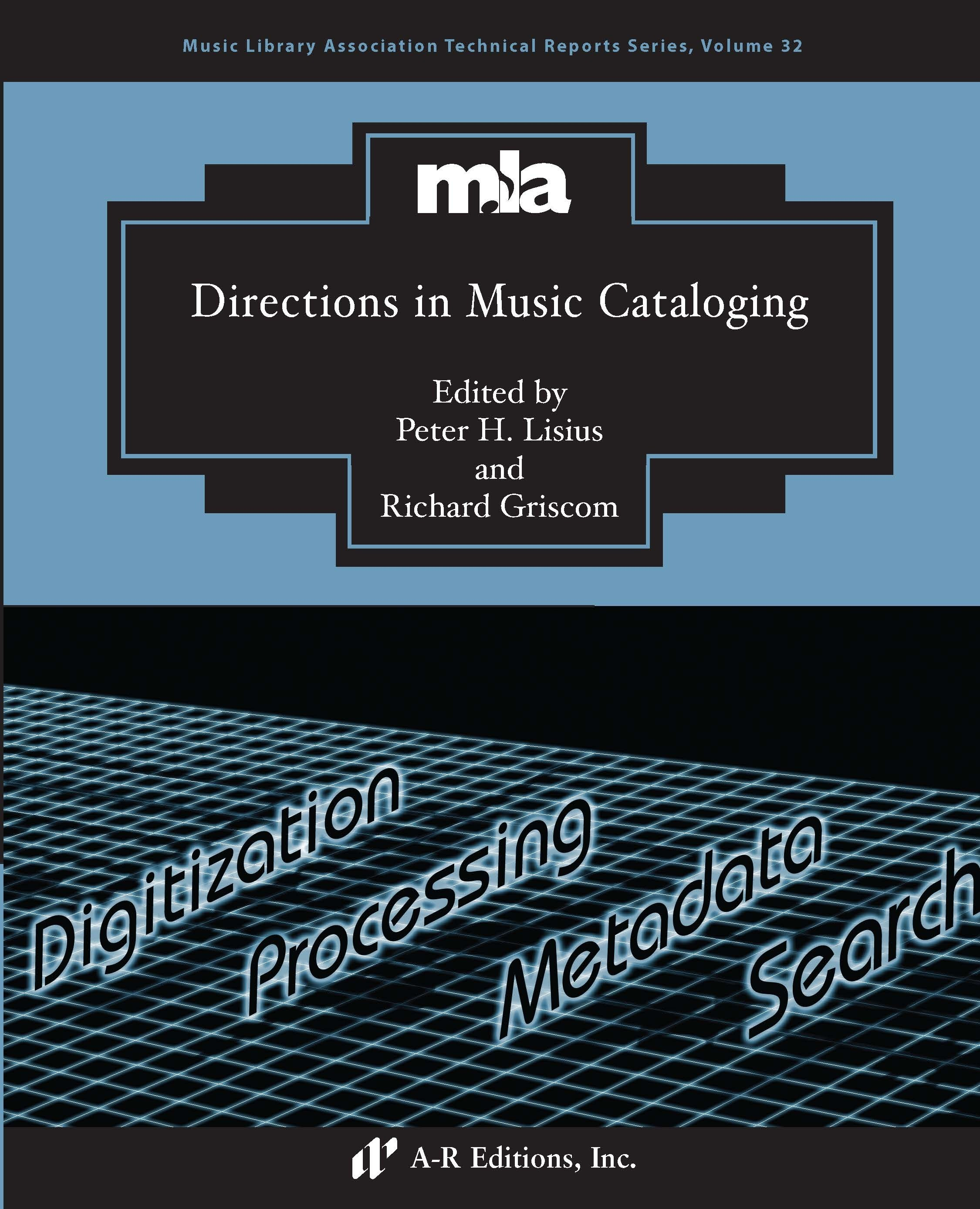 Lisius and Griscom, eds.: Directions in Music Cataloging