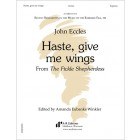 Eccles: Haste, give me wings