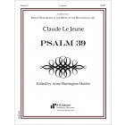 Le Jeune: Psalm 39