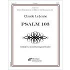 Le Jeune: Psalm 103