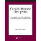 Canzoni francese, libro primo