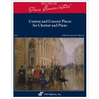 Contest and Concert Pieces for Clarinet and Piano
