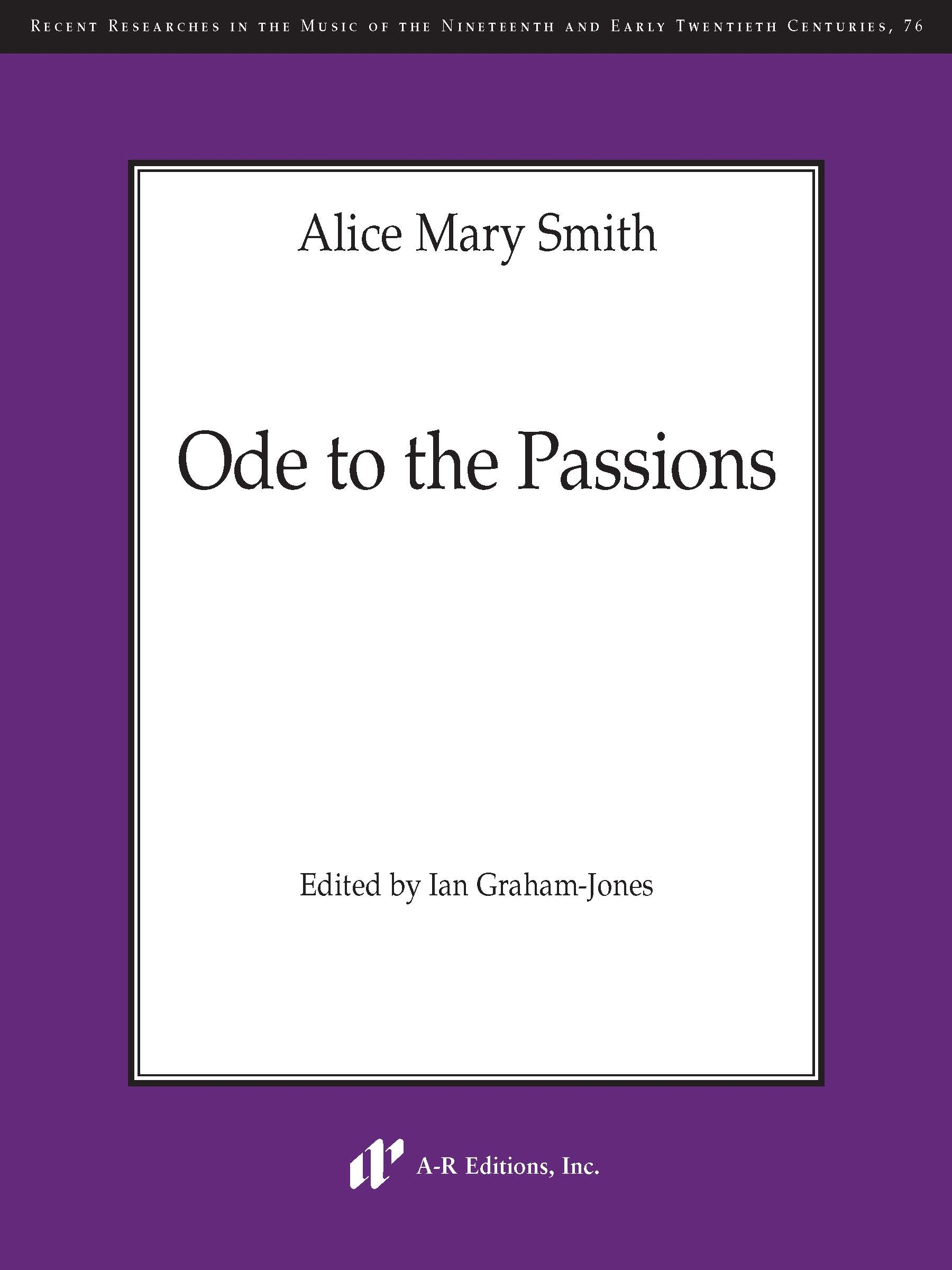 Smith: Ode to the Passions (N076)