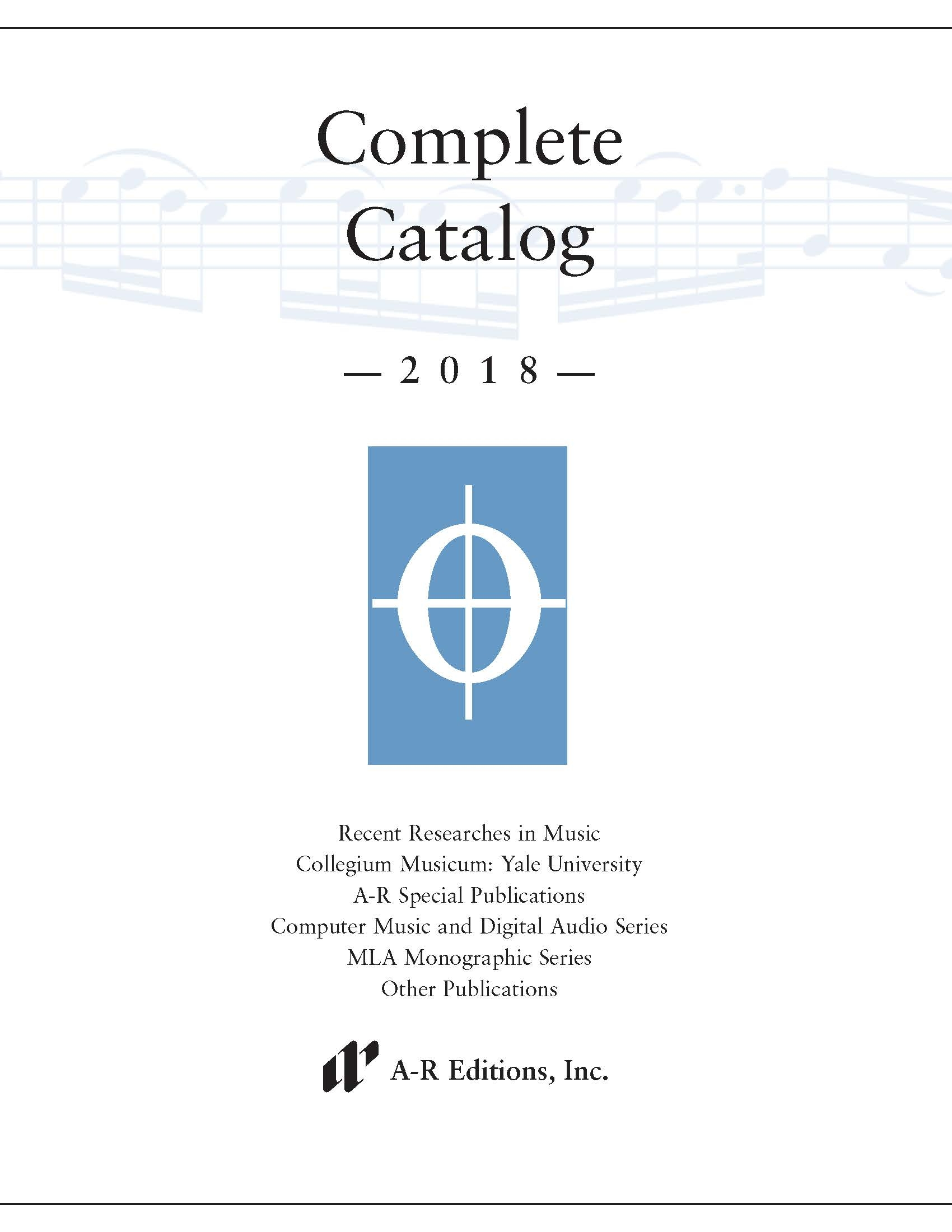 2018 Complete Catalog
